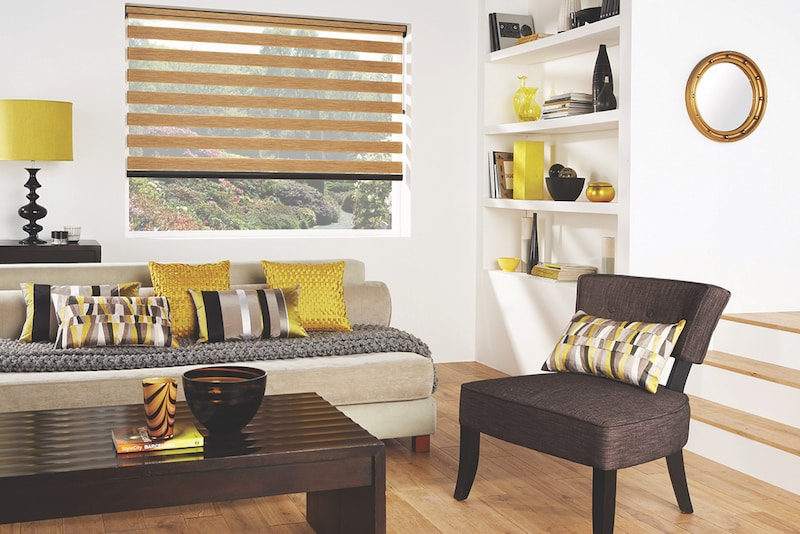 Florence Oak Vision Blinds