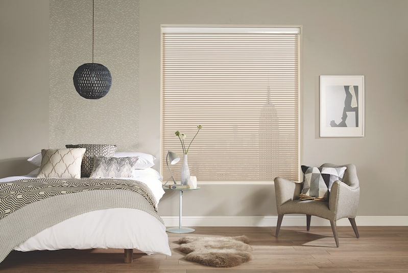 Mayfair Mushroom Translucent Visage Blinds