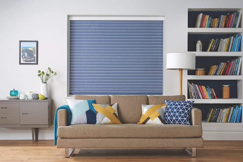 Visage Blinds in Pimlico Denim