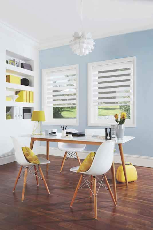 Vision Blinds in Tuscany White