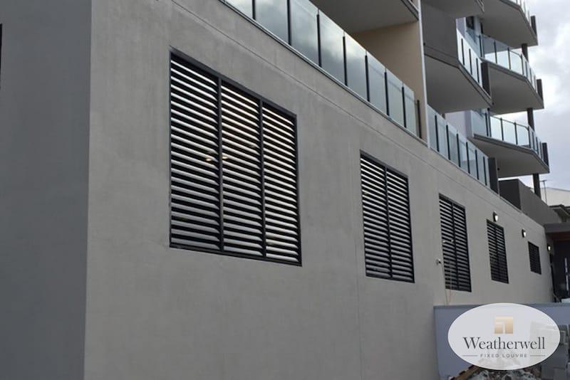 External metal shutters