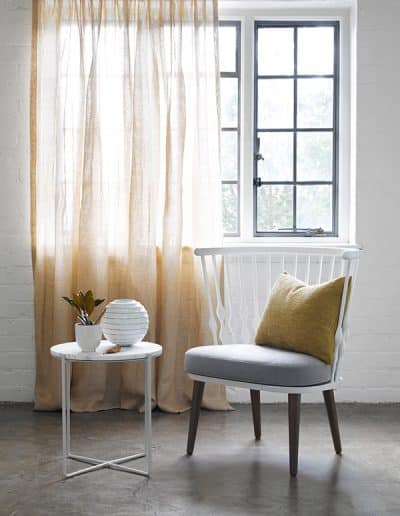 James Dunlop Mokum Fabrics Sheer Curtains | Loconia Air
