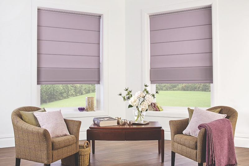 Roman Blinds Versus Roller Blinds | Shutters and Blinds By Design